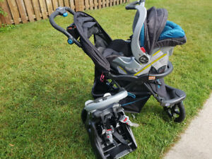 Stroller carseat and base in good condition