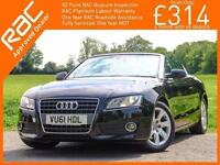 2011 Audi A5 1.8 TFSI 6 Speed Cabriolet Convertible Electric Soft Top Audi +1 L