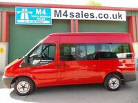 Ford Transit 115ps,9st shuttle minibus. Low Miles