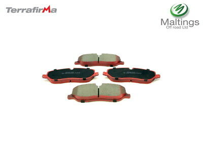 LAND ROVER DISCOVERY 3 PERFORMANCE BRAKE PADS TERRAFIRMA RED STUFF LR019618TF