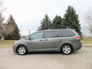 2013 Toyota Sienna-  ONE OWNER & ALL NEW BRAKES!!  CERTIFIED