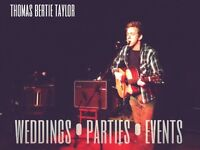Professional singer & guitarist available for Xmas party bookings!