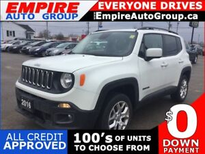2016 JEEP RENEGADE 4WD * REAR CAM * NAVIGATION * BLUETOOTH