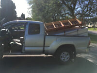 Guy with a truck for student room moving or furniture delivery