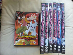 Dragon Drive DVD Set, Vols. 1-5, 7 & 8