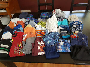 Boys Size 4 Clothes - 45 Pieces