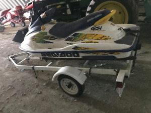 Sea doo with trailer  $2500