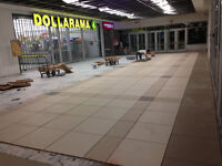 Professional tile setters looking for contracts