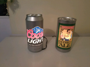 Beer ornaments for home bar. $20 each.