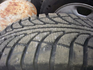 4 EXCELLENT CONDITION 245/45-R17 on F150 WHEELS REDUCED