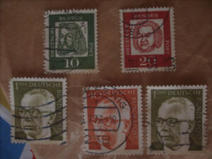 Small Lot of European Stamps