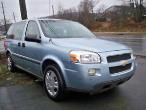 VERY LOW ONLY 99000 KM CHEVROLET UPLANDER FOR SALE