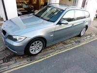 BMW 3 Series 320 touring full leather ,new clutch and dual mass PETROL 2005/55