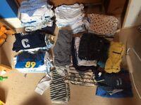 Massive bundle of boys 3-6 month clothes