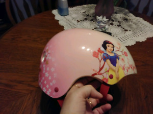 Snow White Bicycle Helmet