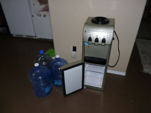 Home Appliances -- GE Water Cooler with Fridge