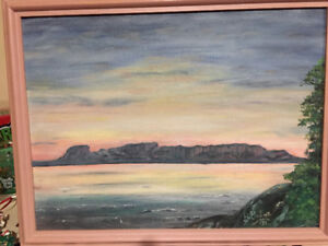 14X18 inch picture of the Sleeping Giant