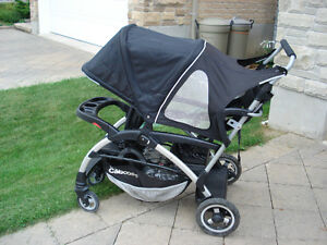Joovy Ergo Caboose Double Sit and Stand Stroller