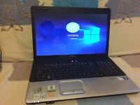 """Hp Compaq Laptop 17"""" 4gb RAM /200gb HARD DRIVE"""