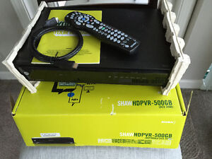 PVR's/MOTOROLA 500 GB HD