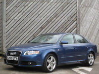2005 AUDI A4 2.0 S LINE SALOON - ONLY 79000 MILES - FULL HISTORY !