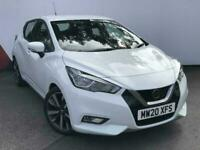 2020 Nissan Micra 1.0 DIG-T 117 Acenta 5dr Hatchback Petrol Manual
