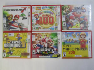 Nintendo 3DS games $20 to $40