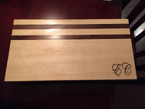 Cutting Boards Handmade Solid Hardwood Customizable