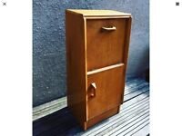 Unusual retro 1960s G Plan Gold Label Bedside Cabinet / Cupboard