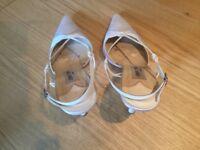 Jimmy Choo ivory bridal shoes size 40 1/2 (UK 7)