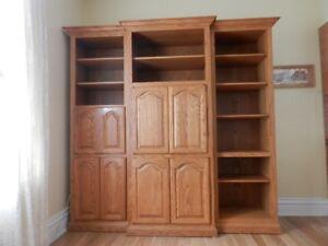 Antique Oak Bookshelf Perfect Condition