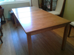 Large dining table. Ikea.