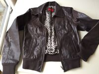 Woman's leather jacket (size 8/10)
