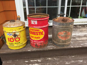 3 very old cans!! Cheap