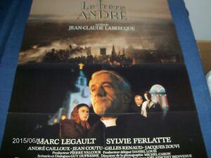 LE FRERE ANDRE-VINTAGE POSTER OF MOVIE-1987-J.C. LABRECQUE-QUE.