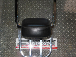 1997-2004 honda vf-750f magna backrest with carrier