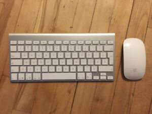 Apple Bluetooth keyboard and mouse