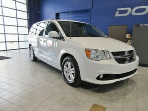 2016 Dodge Grand Caravan Crew  w/LEATHER, NAV, DVD, POWER SLIDIN