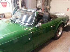 Rare 1969 Trumph TR6 - 1st Year they were made! West Island Greater Montréal image 3