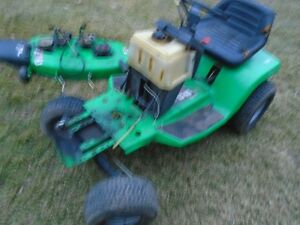 Parts Tractor mower,