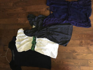 Size small maternity lot(6shirts,2tanks and tunic)