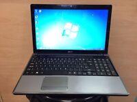 Acer Phenom QuadCore HD Laptop 4GB Ram, 320GB, (Kodi) HDMI, Win 7, Microsoft office, Very Good Cond