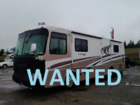 WANTED CASH PAID - Diesel Pusher or Gas Motorhomes Peterborough Peterborough Area Preview