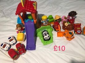 Large bundle of vtech toot toot driver £50
