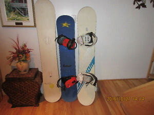 3 planches a neige