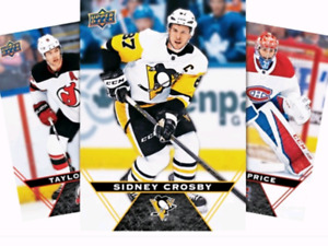 18/19 Tim hortons hockey cards