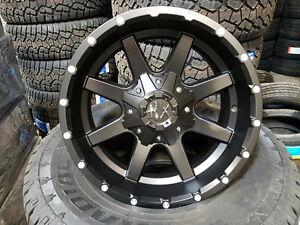 NEW! 18 black -f150 F250 F350 1500 2500 3500 chevy dodge ford