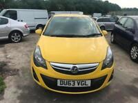 2013 (63 reg) Vauxhall Corsa 1.4 i 16v SXi 5dr Hatchback Petrol 5 Speed Manual
