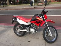 Honda xr 125 red 2004