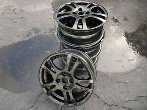4 mags 15po 4x100 noirs